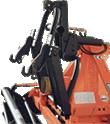 Galinis hidraulinis keltuvas sėjamosios mašinos prikabinimui su 2 cilindrais